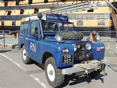 Royal Navy Rescue Land Rover Appropriate But I Ve