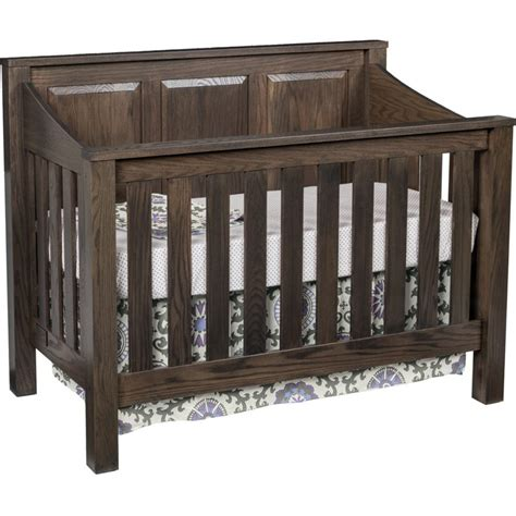 Amish Cribs by Mission Crib Amish Crafted Furniture