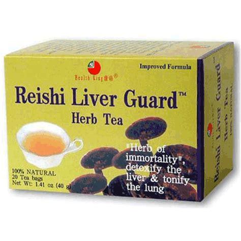 Health King Detoxer Herb Tea Benefits by Review Health King Reishi Liver Guard Herb Tea Iherb