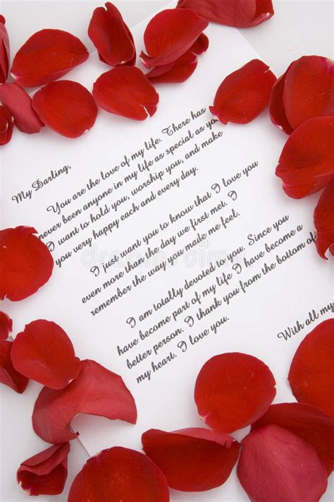Letter For Valentines Day A Letter For Valentines Day Stock Image Image 7748073