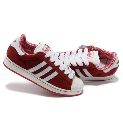 superstar rouge basket adidas original superstar femme rouge lover