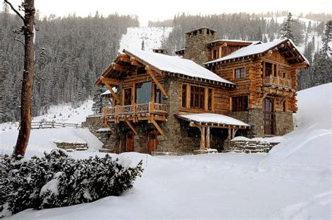 luxury log home plans with bold accents ideas 4