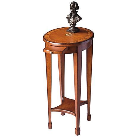 tray accent table olive ash burl pull tray accent table u4814 ls plus