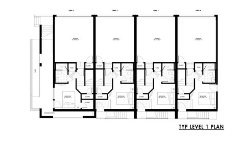 row house floor plans gallery of emerson rowhouse meridian 105 architecture 12