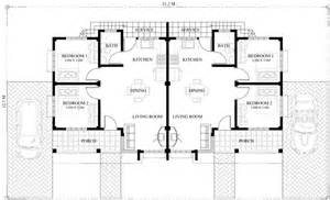 floor plan with roof plan conchita 2 bedroom duplex house plan pinoy house plans