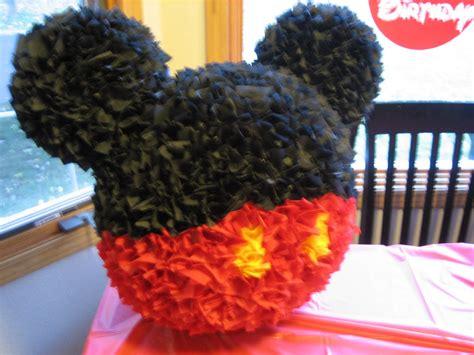 diy pinata five post mickey mouse