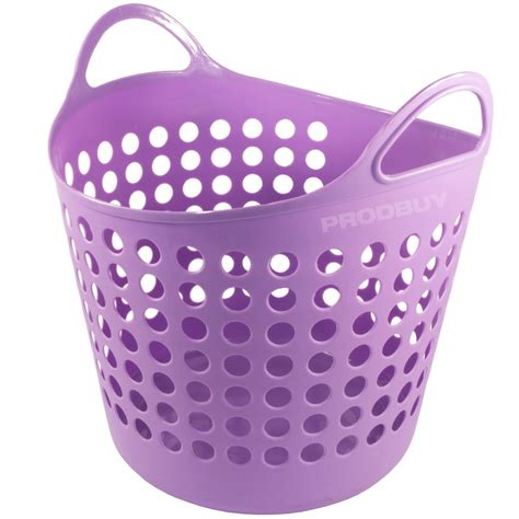 laundry with handles plastic laundry washing basket with handles bin