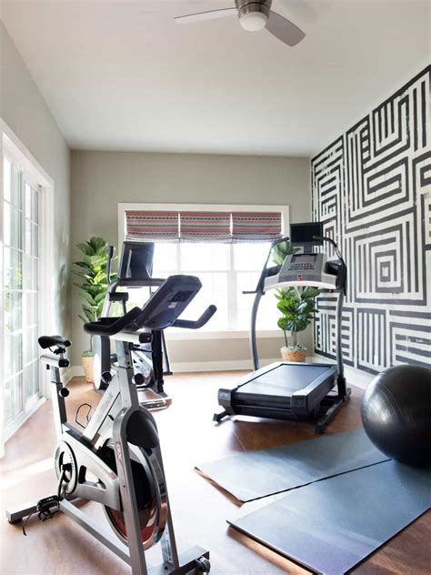 design your own home gym home gym with houseplants and wallpaper create your own