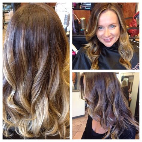 balayage color balayage hair color balayage color finished the color