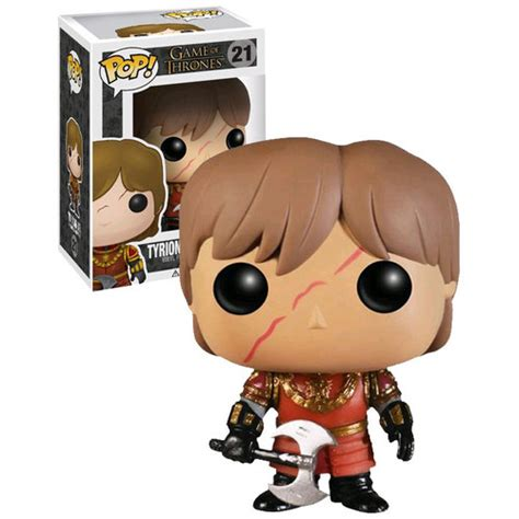 Funko Pop Set Of Thrones Battle Of The funko pop of thrones 21 tyrion lannister in battle armor new and mint condition your