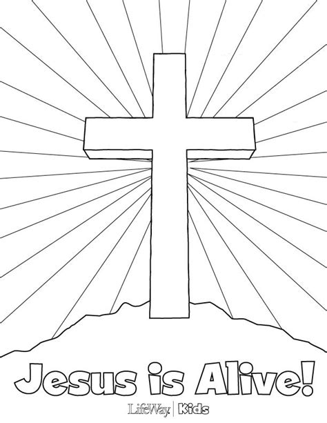 easter coloring pages jesus is alive jesus is risen coloring page az coloring pages