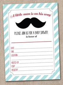 mustache baby shower invitations templates mustache baby shower invitation templates theruntime