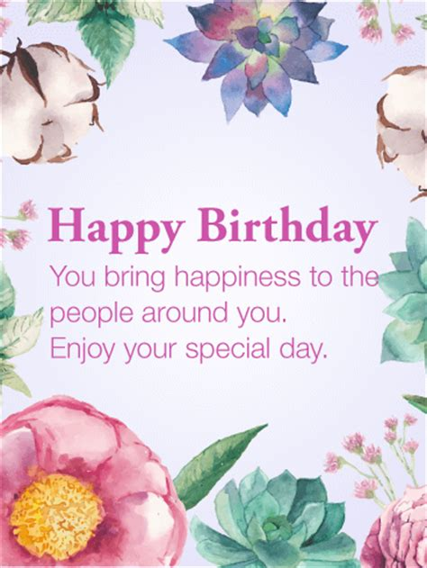 Last Person To Wish You Happy Birthday Happiness To The People Happy Birthday Card Birthday