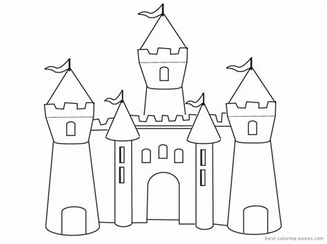 printable disney castle coloring pages disney castle coloring pages printable coloring home
