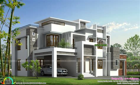 modern contemporary house plans kerala home design and