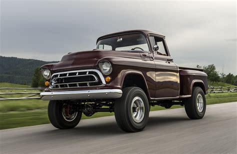 Chevy Truck 50s by Legacy Classic Trucks Returns With 1950s Chevy Napco 4x4