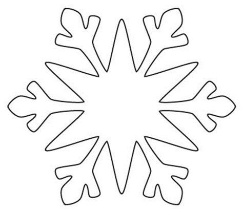 large printable snowflake template best 25 christmas templates ideas on pinterest