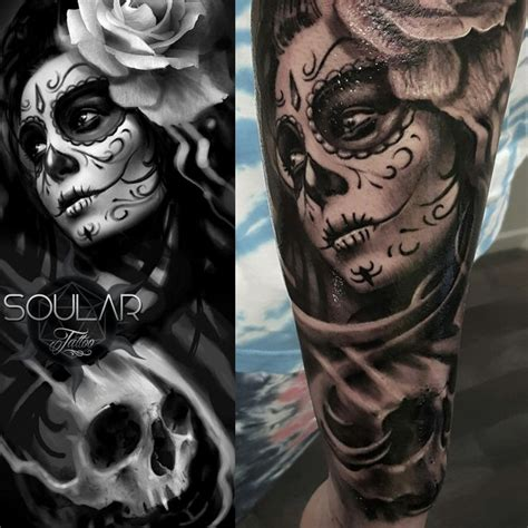 day of the dead tattoo sleeve designs 87 best images about soular tattoos on