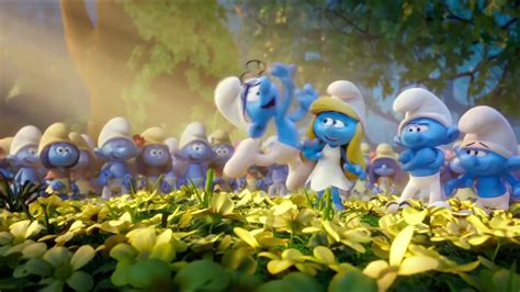 smurfs family the smurfs lost village in cinemas april