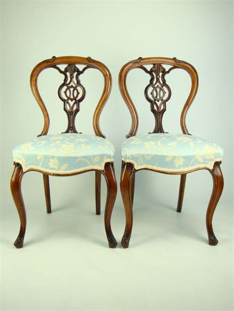 antique victorian armchair pair antique victorian balloon back walnut chairs 249811 sellingantiques co uk