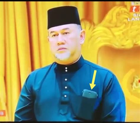 phone   majesty   pertuan agong