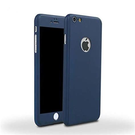 360 For Iphone 55s6 1 360 ultra thin iphone tempered glass blue