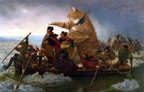 george washington on boat fatcatart great artists mews 187 an unexpected journey