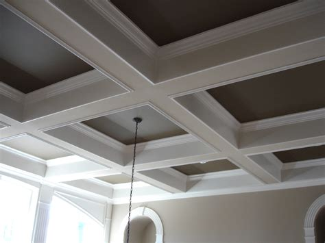 coffered ceiling paint ideas inside the foxhole