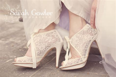 Wedding Shoes Booties by Ivory Lace Bridal Booties Wedding Style Onewed
