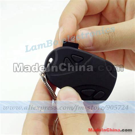 New Key Chain Camcorder 720x480 30fps Mini Dv 720x480 30fps Car Key Chain