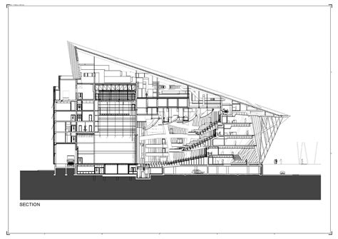 theater section theater section drawing