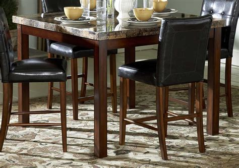homelegance dining room furniture homelegance hutchinson counter height dining table 3273 36