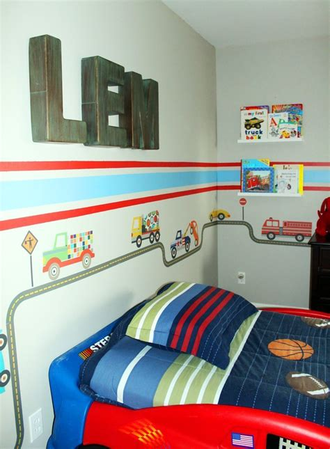 truck cer interior storage ideas car truck theme toddler room ideas a space to call home