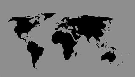 world map black and white vector worldmap by escardo on deviantart