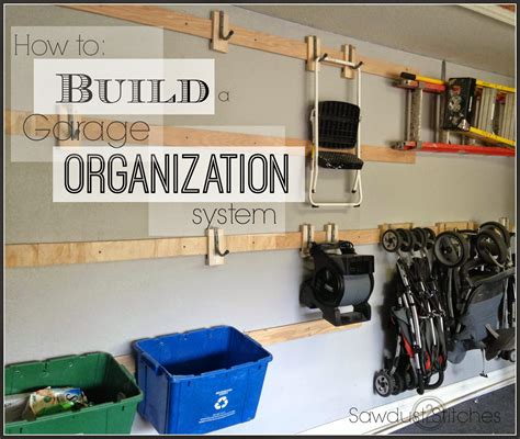 diy garage organization systems garage storage sawdust 2 stitches