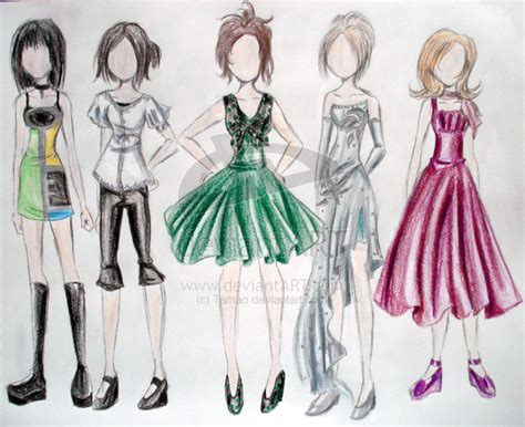 design your clothes fashion design sketches by tamao on deviantart