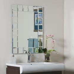 decorate a bathroom mirror decor montreal modern bathroom mirror beyond
