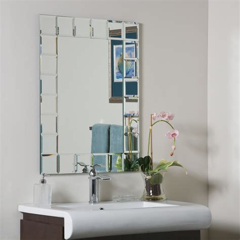 Modern Mirrors For Bathrooms Decor Montreal Modern Bathroom Mirror Beyond Stores