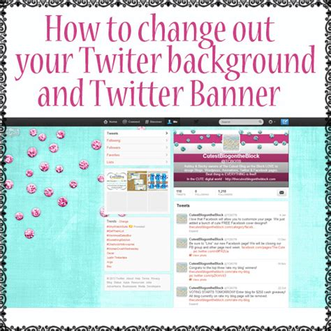 change layout on twitter twitter tutorial free twitter backgrounds the cutest
