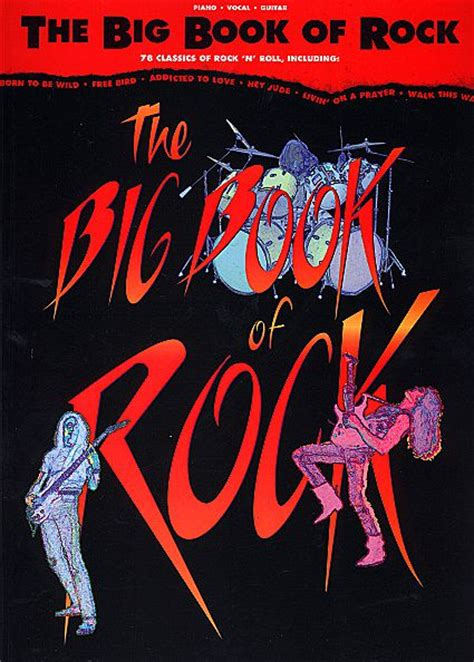 bigger rock books the big book of rock sheet by various sku hl