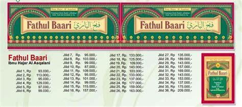 Buku Terjemah Fathul Baari 36 Jilid terjemahan lengkap kitab fathul bari ibnu hajar al asqolani