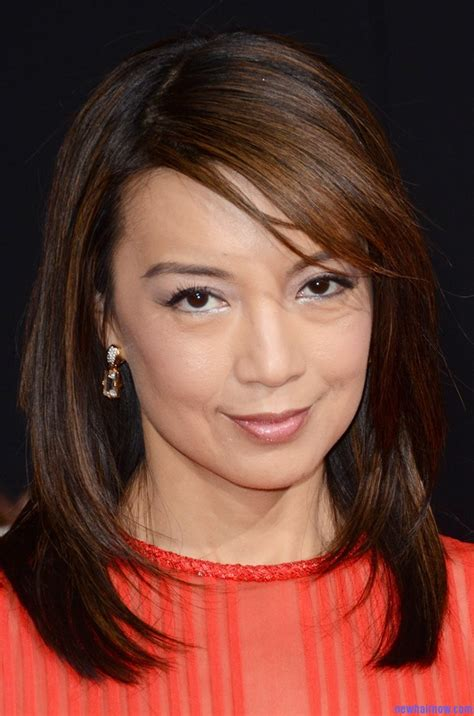 wen curly short hair styles ming na wen new stylish long wavy haircut new hair now