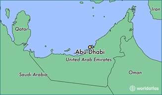World Abu Dhabi Address Where Is Abu Dhabi The United Arab Emirates Where Is