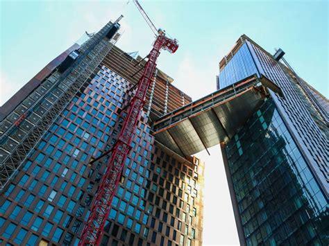 york city building  pool   sky  open