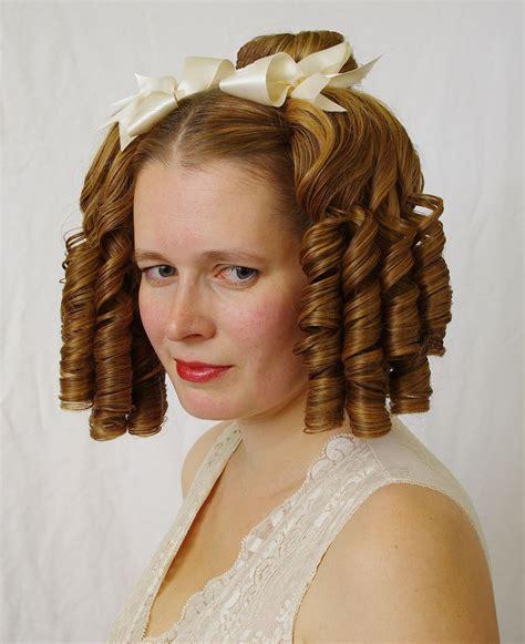 boys hair ringlets curls victorian ringlets
