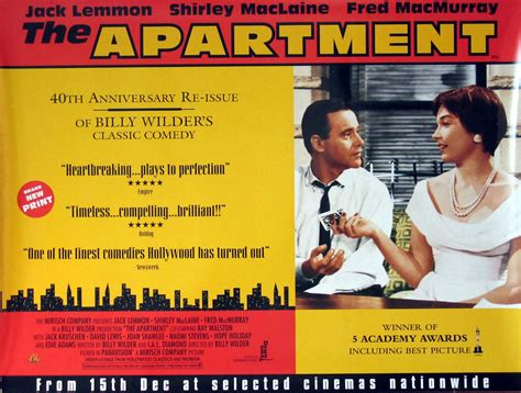 appartment movie the apartment 1960 review for the billy wilder