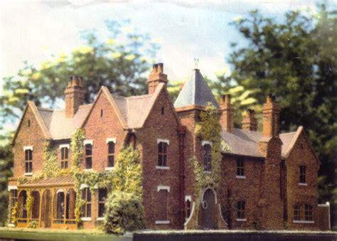 Corner Lot House Plans the borley rectory models