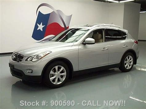 how it works cars 2009 infiniti ex navigation system sell used 2009 infiniti ex35 journey sunroof nav rear cam 58k mi texas direct auto in stafford