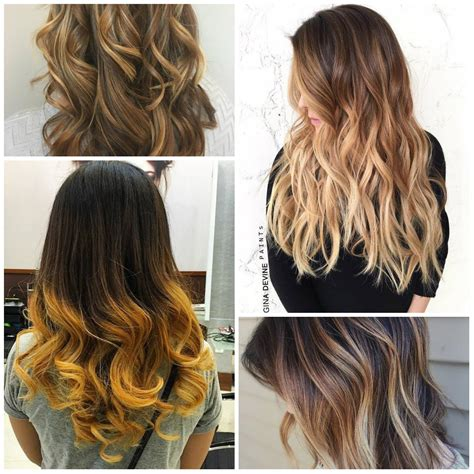 what colors are in for 2017 trendy ombre hair colors for 2016 2017 best hair color