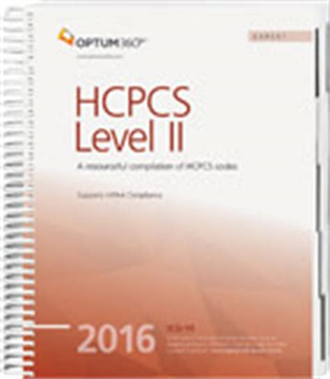 hcpcs level ii expert 2018 spiral hcpcs level ii expert spiral books ingenix optum coding hcpcs level ii expert spiral 2016